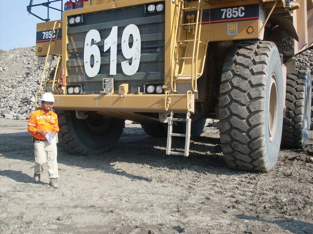 Radial OTR tires 37.00R57 for dump trucks