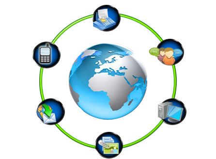 different communication methods in a business Modern forms of communication – fax, email and videoconferencing and added on from different computer files business communication.